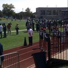 Photo taken at Yager Stadium by John B. on 9/29/2012
