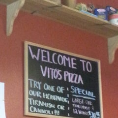 Photo taken at Vito's Pizza by Brittany O. on 2/24/2013