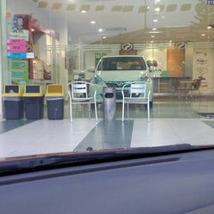Photo taken at Perodua Sales & Service Center by 🎀  funna f. on 10/31/2014