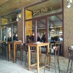 Photo taken at City Pub by Kremena R. on 10/27/2012