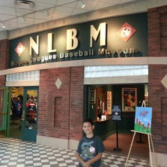 Photo taken at Negro Leagues Baseball Museum by Jeff C. on 8/15/2013