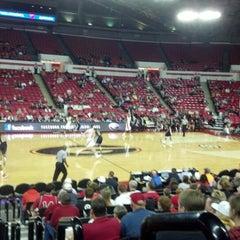 Photo taken at Stegeman Coliseum by Allison K. on 12/15/2012