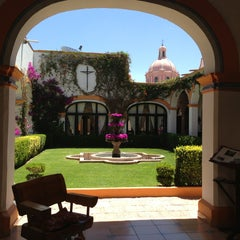 Photo taken at Posada Del Virrey by Martha V. on 4/14/2013