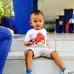 Photo taken at Sekolah Tinggi Ilmu Pelayaran (STIP) Marunda by Missy Phillia R. on 6/18/2014
