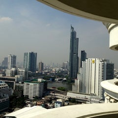 Photo taken at The Tower Club at lebua by Kris L. on 12/17/2012