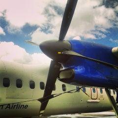 Photo taken at Aéroport Aimé Césaire (FDF) by Kendall L. on 4/9/2013