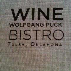 Photo taken at Wolfgang Puck Bistro by Phillip on 9/30/2012