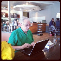 Photo taken at Starbucks by Sam X. on 3/24/2013