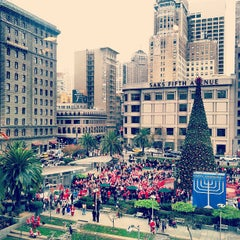 Photo taken at Union Square by Mark W. on 12/15/2012