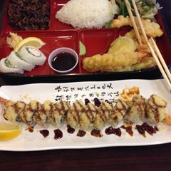 Photo taken at California Bowl Sushi & Teriyaki by Setareh on 3/16/2014
