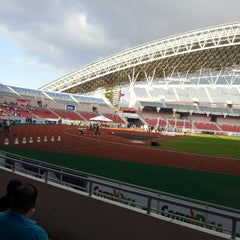 Photo taken at Estadio Nacional by Ericka S. on 3/10/2013