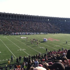 Photo taken at Harvard Stadium by Brendan M. on 11/17/2012