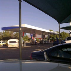 Photo taken at Engen Beaufort West by Jared S. on 1/6/2012