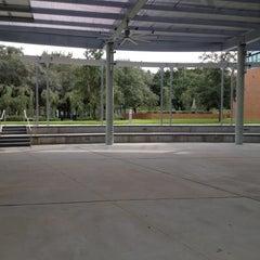 Photo taken at The Amphitheater (MSC) by Vanessa on 9/15/2012
