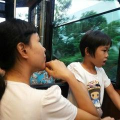 Photo taken at Peak Tram Upper Terminus 山頂纜車凌霄閣總站 by Андрей W. on 7/9/2013