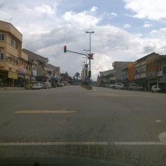 Photo taken at Pengkalan Hulu by 🎀  v I g η e s L. on 11/9/2012