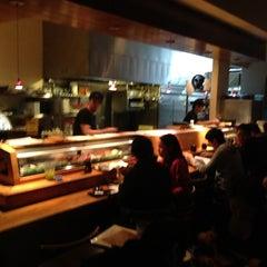 Photo taken at Kanpai Japanese Sushi Bar & Grill by Tony P. on 12/10/2012