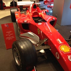Photo taken at Ferrari Store by Anton on 10/15/2012