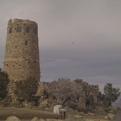 Photo taken at Desert View Watchtower by Jojo B. on 12/1/2012