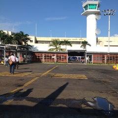 Photo taken at Aeropuerto Internacional Rafael Nuñez (CTG) by Tatiana P. on 10/18/2013