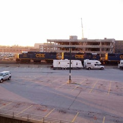 Photo taken at Bankers Life Fieldhouse Parking Garage by Aaron on 11/26/2012