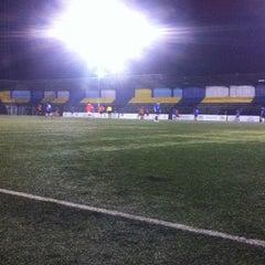 Photo taken at Estadio Ruben Marcos Peralta by Jaime Andrés on 10/22/2012