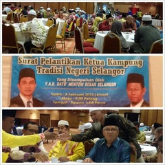 Photo taken at Dewan Jubli Perak SUK Selangor by Hamiedah Z. on 2/8/2015