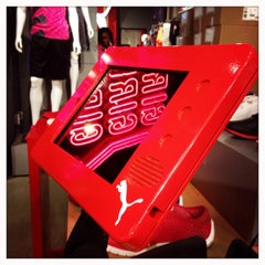 Photo taken at The PUMA Store by MoRiza on 6/13/2014