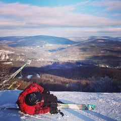 Photo taken at Belleayre Mountain Ski Center by Alex on 1/4/2013