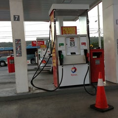Photo taken at Total Gas Station by Chris W. on 1/30/2013