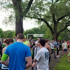 Photo taken at Douglas (Stephen) Park by Erika L. on 7/13/2014