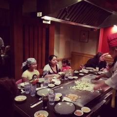 Photo taken at Japanese Village Steak House by Chikom U. on 2/17/2013