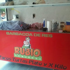 Photo taken at Taqueria Rubio (Barbacoa De Res) by Anylu R. on 8/16/2013