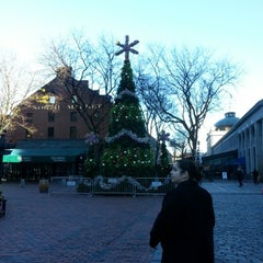 Photo taken at Faneuil Hall Marketplace by Tammy on 11/14/2012