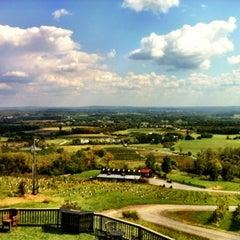 Photo taken at Bluemont Vineyard by Rick G. on 9/30/2012