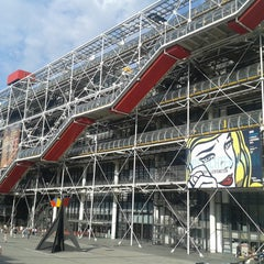 Photo taken at Centre Pompidou – Musée National d'Art Moderne by Ben J. D. on 8/5/2013