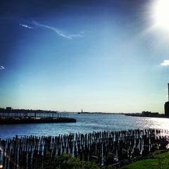 Photo taken at Brooklyn Bridge Park by Cheryl T. on 5/26/2013