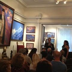 Photo taken at Nicholas Roerich Museum by Ellen F. on 10/5/2013