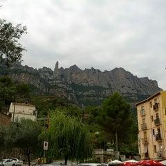 Photo taken at Monistrol de Montserrat by Inna S. on 8/16/2014