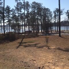 Photo taken at Lake Tobosofkee by Melissa on 2/14/2015