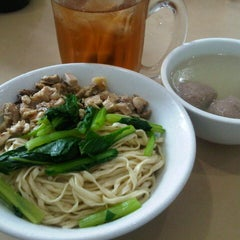 Photo taken at Bakmie Boy by Emma M. on 4/2/2013