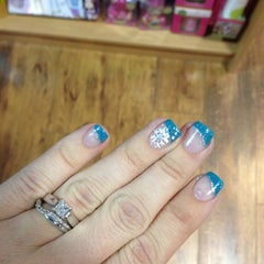 Photo taken at Nail Addiction by Wendy on 12/14/2012