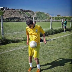 Photo taken at Campos De Futbol Las Minas by Raul C. on 10/3/2015