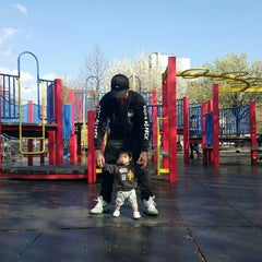 Photo taken at Vincent B. Abate Playground by Puu K. on 3/29/2016