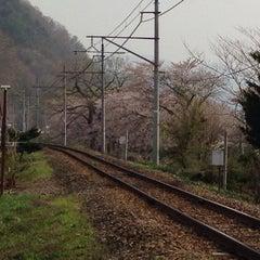 Photo taken at 中荒井駅 (Naka-Arai Sta.) by Tomohiro M. on 5/3/2014