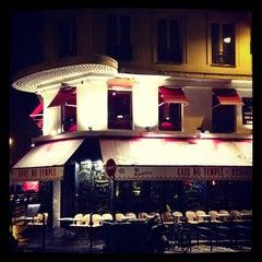 Photo taken at Le Café du Temple by Nicola M. on 1/20/2013