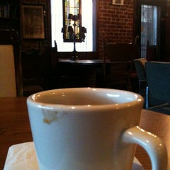 Photo taken at The Library - A Coffee House by David R. on 1/12/2013