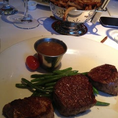 Photo taken at Le Steak Frites St-Paul by M.eve on 5/3/2013