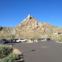 Photo taken at Pinnacle Peak Park by Becca @GritsGal on 3/12/2013
