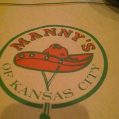Photo taken at Manny's Restaurante Mexicano by Zach H. on 11/3/2012